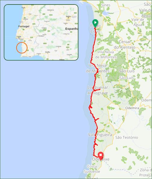 Trilho dos Pescadores - Caminhos da Natureza