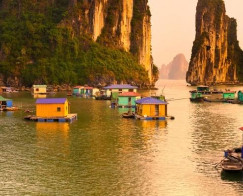 Incrível travessia de BTT no Vietname