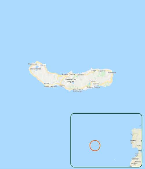 Pelos trilhos dos Açores