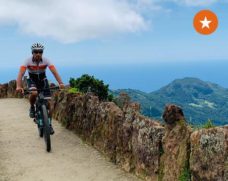 Pelos Trilhos dos Açores BTT - Caminhos da Natureza